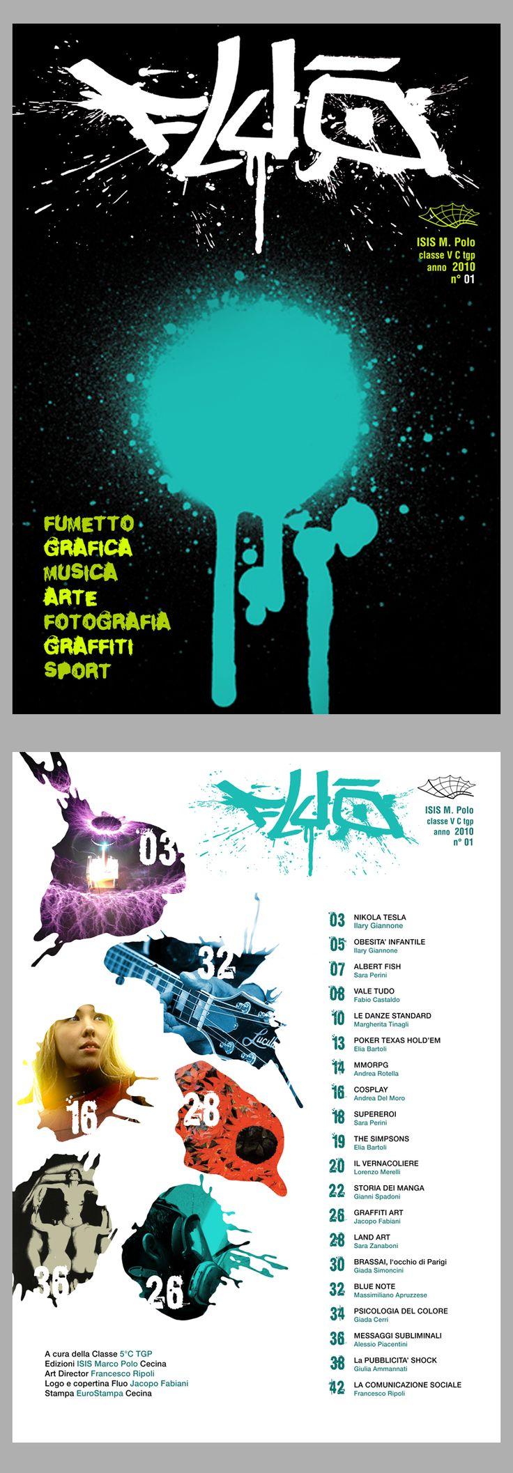 FLUO '10. Copertina + Indice