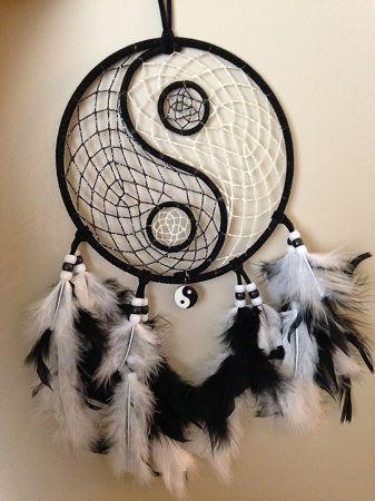 ☯•ϓᎥᑎ•ϓᗋᑎ૭•☯.。.☯・゚ ☯~Yin y Yang~☯ Dream catcher ying yang