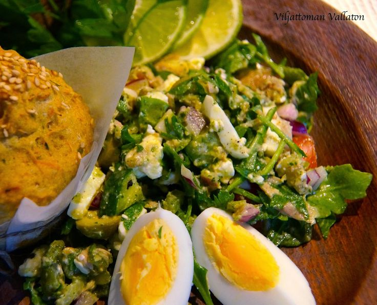 Viljattoman Vallaton: Libanonilainen salaatti