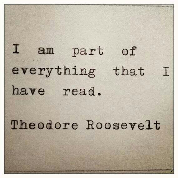 A beautiful truth about why we read. To join adventures, love characters and wander into new reflections.
