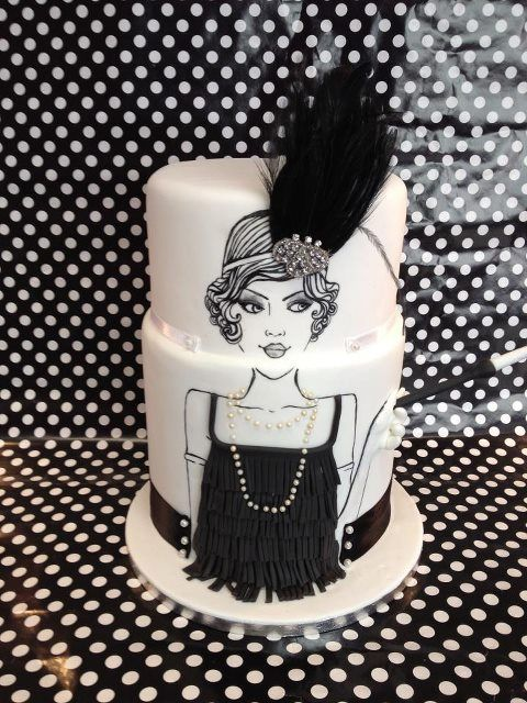 Flapper Cake | Flickr - Photo Sharing!