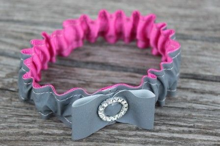 Reflector Bracelet from From Lucky Lonny With Love by DaWanda.com