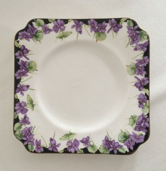 17 Best Images About Vintage Plates Vintage Dinnersets On