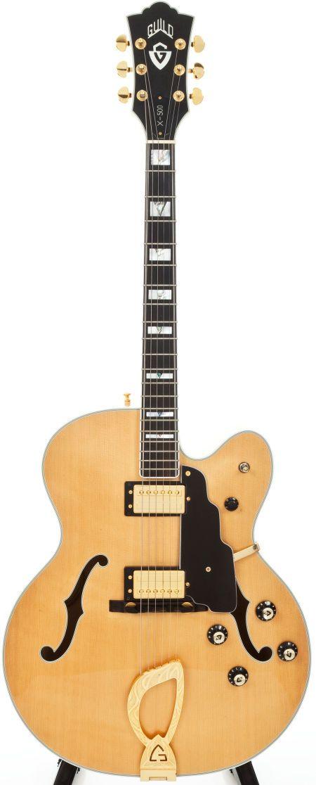 1992 Guild X500BLD Jazz Box Guitar.
