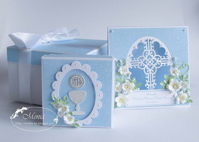 paper craft communion cards | My paper land: box.....Communion cards.