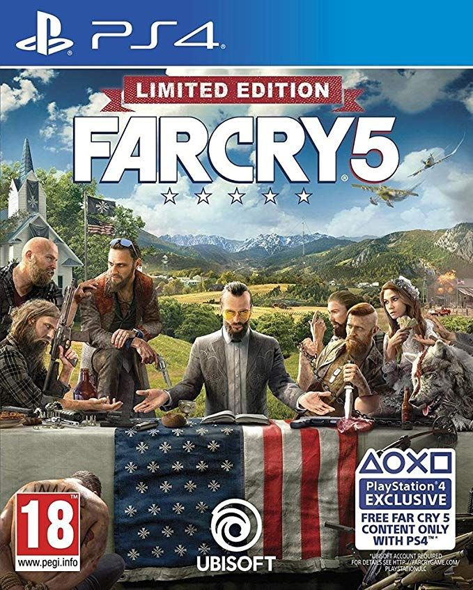 Far Cry 5 Limited Edition Exclusive To Amazon Co Uk Ps4