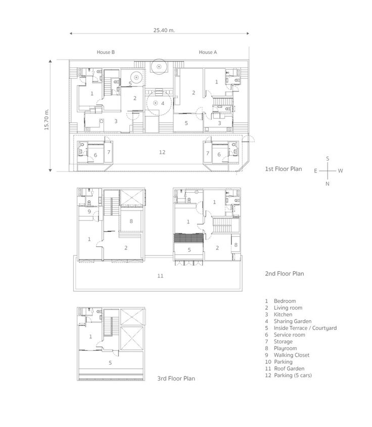 182 best arch plan images on pinterest house floor for Twin home floor plans