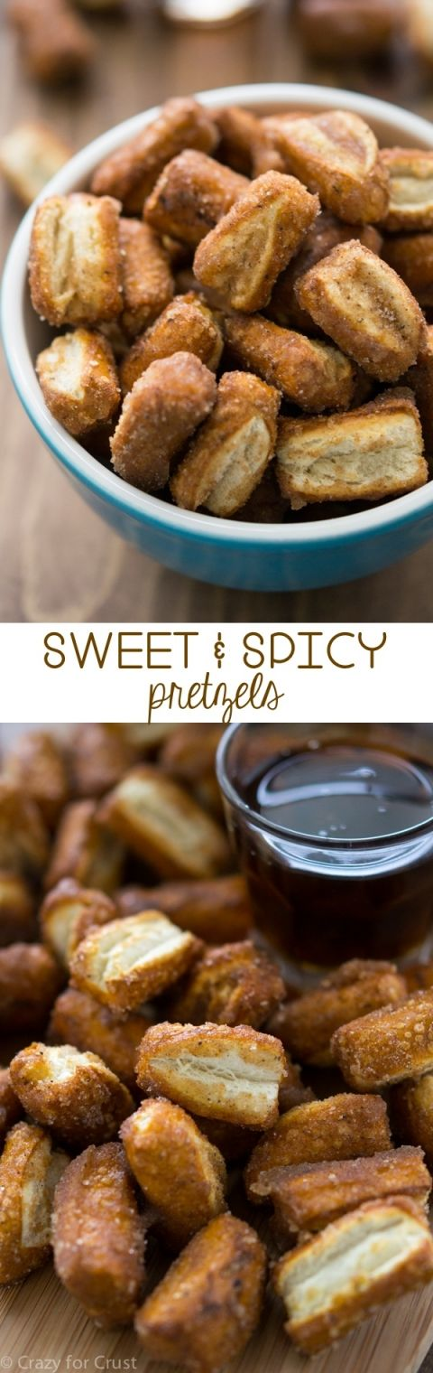 Sweet and Spicy Pretzels