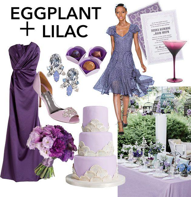 Eggplant Color Schemes: 17 Best Images About WEDDING: Purple & Gold On Pinterest
