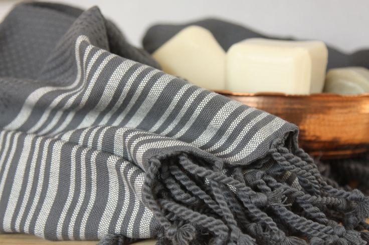 Truva Turkish Towels are flatwoven, fast drying and take up much less room in your washing machine than standard towels.   100% Cotton.  100x195cms.