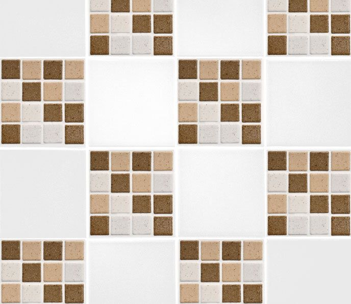 "Brown Mosaic Tile Transfers 6"" x 6"" Printed Waterproof Vinyl Tile Stickers Pack of 10 by TheWallStickerComp on Etsy https://www.etsy.com/listing/223367817/brown-mosaic-tile-transfers-6-x-6"