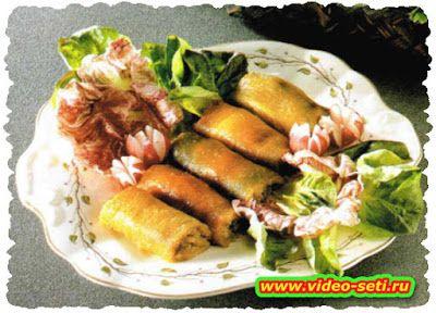 Ricette tipiche della cucina Italiana: Peperoni arrotolati