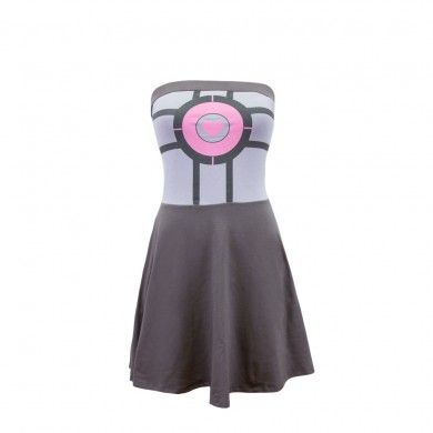 Companion Cube dress! AHHHH! From We Love Fine. This would be a great First Date dress so you can see if the fella knows Portal or not.