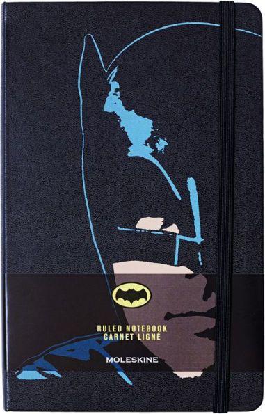 Moleskine Batman Limited Edition Large Ruled Black Hard Cover