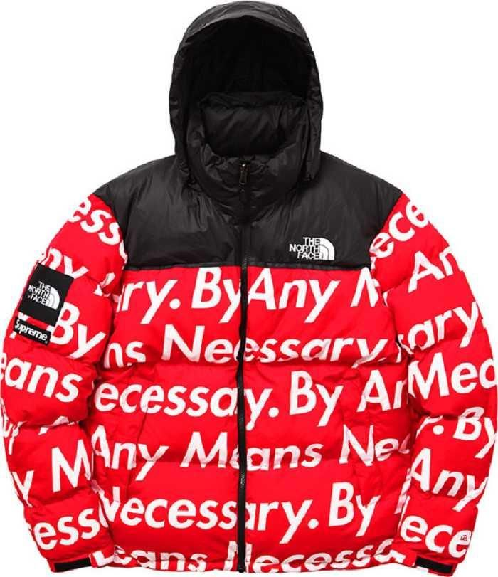 ebfab00c1 Supreme X THE NORTH FACE Nuptse Red Jacket | Clothes | North face ...