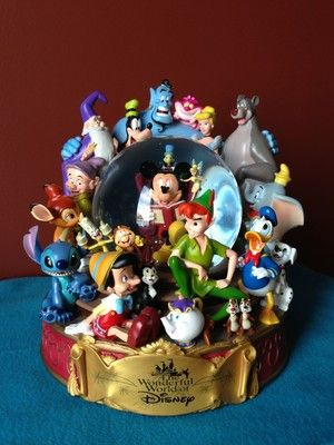 The Wonderful World of Disney Snow Globe