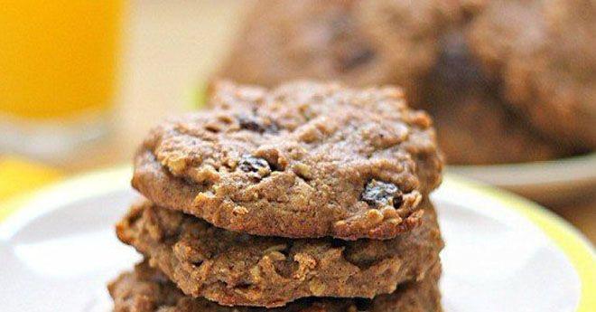 Овсяно-творожные печенья