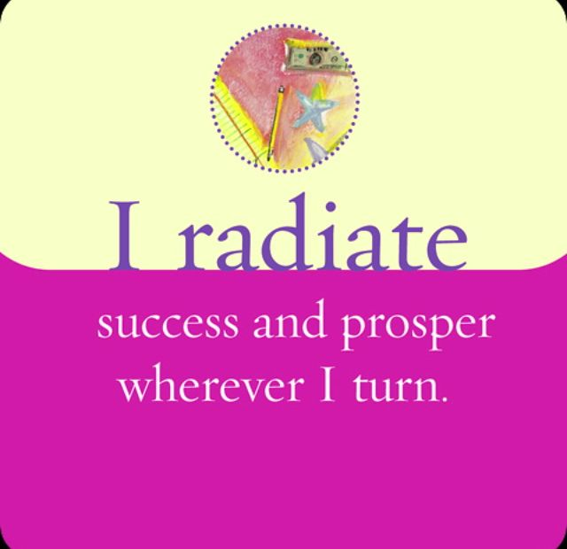 #shortinspirationalquotes http://www.positivewordsthatstartwith.com/ I radiate success and prosper wherever I turn #qoutes