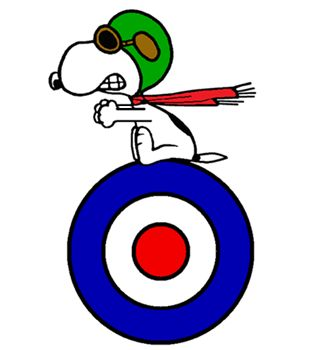 Snoopy - Official Logo of The World War I Flying Ace (smaller)