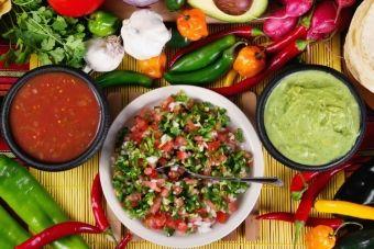 En toute simplicité...La salsa de tomates et feta