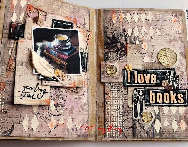 EPOKA  PAPIEROWA: Wpis do art journala