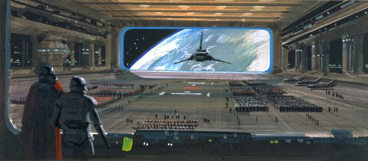ralph mcquarie concept art for sw