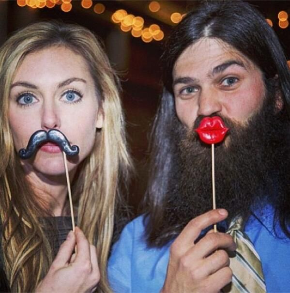 Haha Jep and Jessica from Duck Dynasty