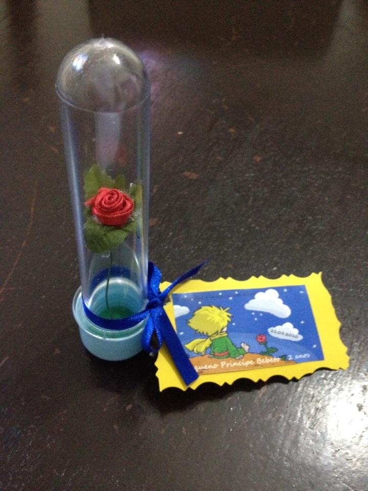 Tubete flor Pequeno Principe
