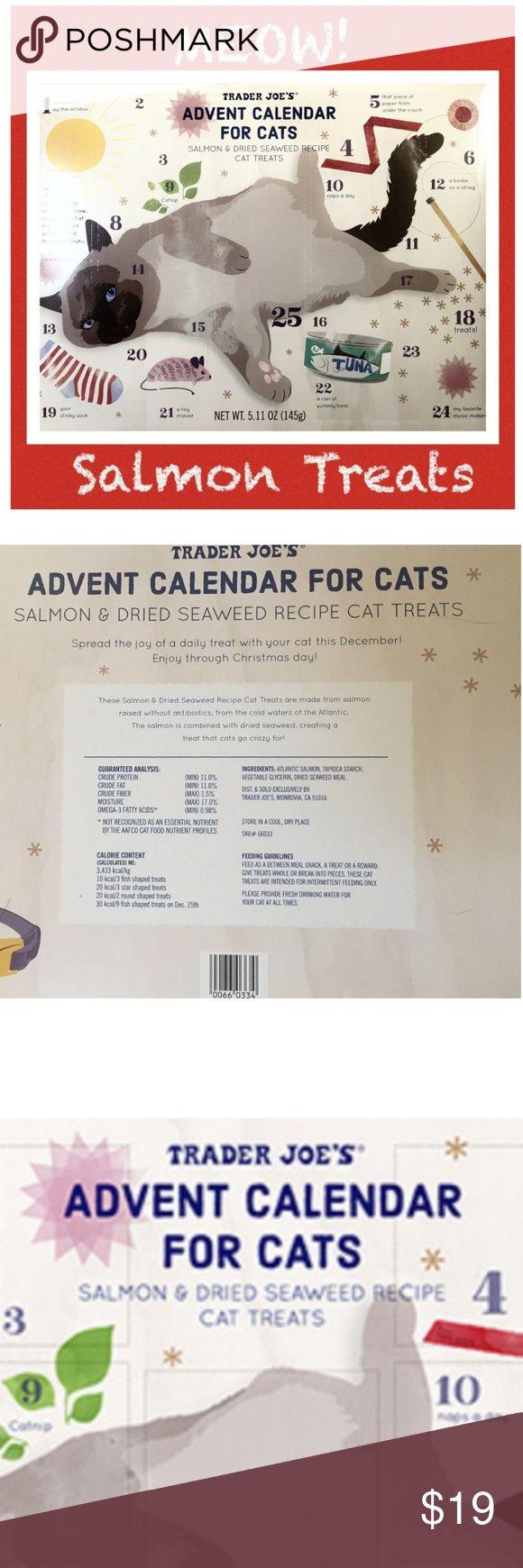 Cat Holiday Advent Calendar Cat Treats Christmas TRADER