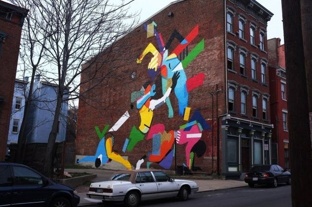 Maser (Dublin, Ireland) | Community Post: 9 World Famous Street Artists You Never Would Have Guessed Are In Cincinnati