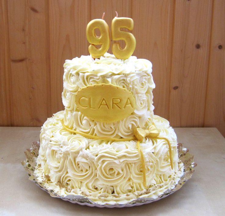 Birthday cake for 95th birthday