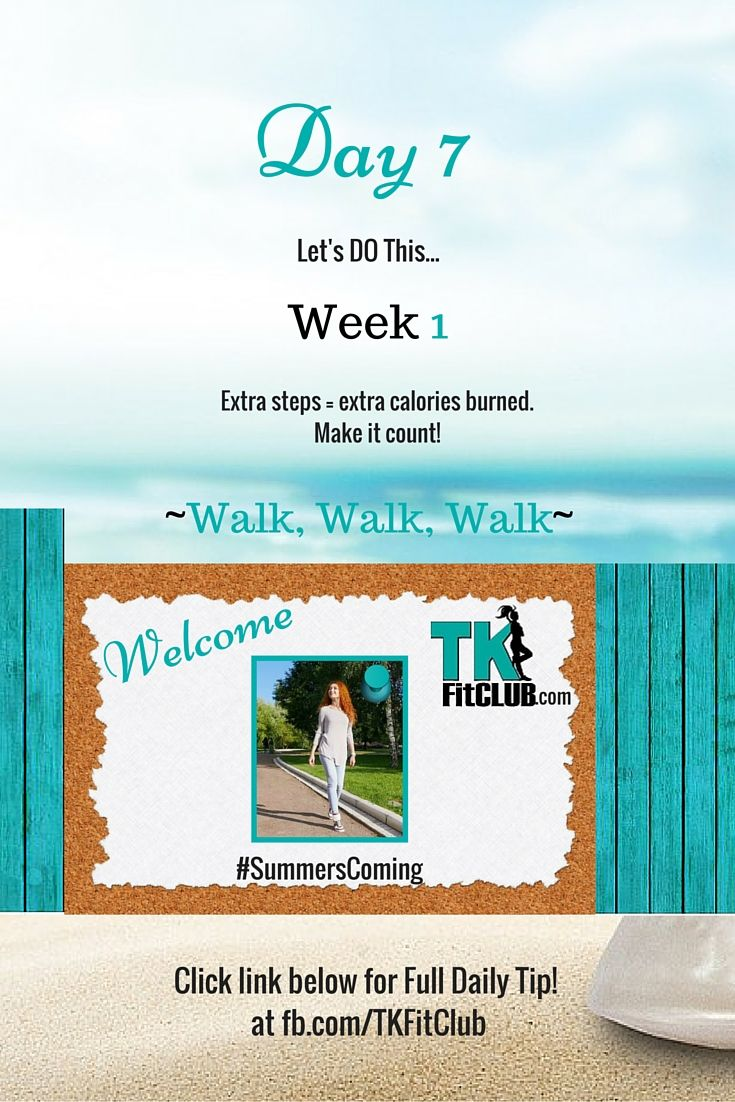 Walk #Walk Walk TKFitClub Bikini Ready Countdown.#SummersComing #Accountability #fitfam #getfit #weightloss #Challenge #nutrition #eatclean #workouts