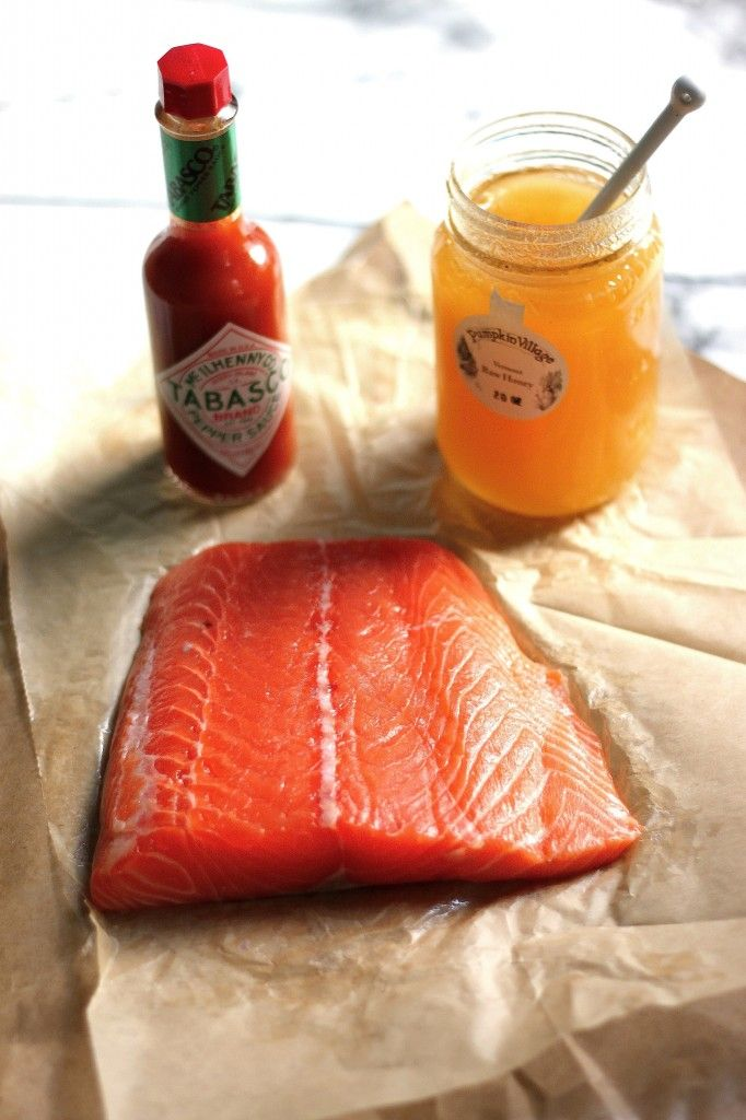 20 Minute Tabasco and Honey Roasted Salmon