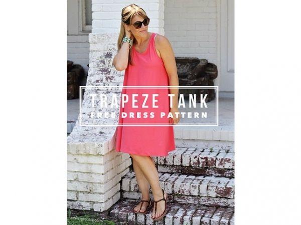 Free pattern: Trapeze Tank Dress