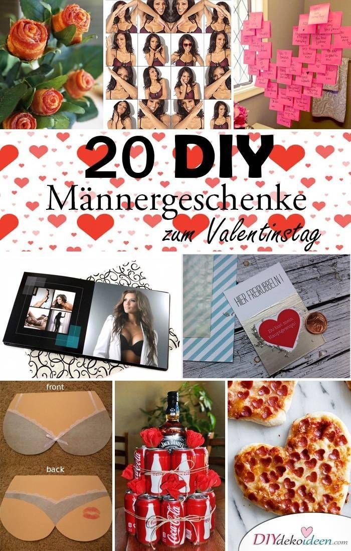 20 Kreative Und Lustige Diy Mannergeschenke Zum Valentinstag Diy Geschenke Diy Valentinstag Fur Ihn Valentinstag Geschenk Mann Diy Geschenkideen