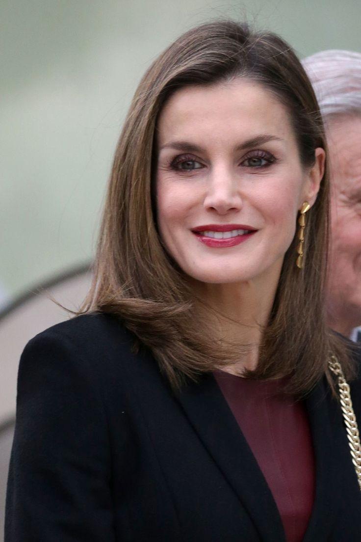 La Reina Letizia: melena midi maxi