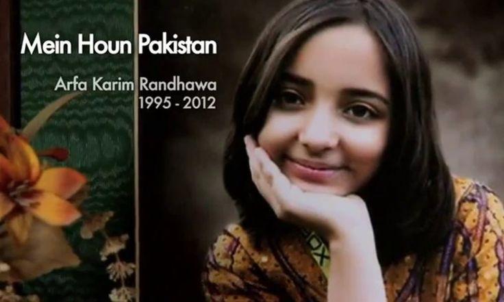 Remembering Arfa Karim Randhawa, Pakistan's wonder girl – Youngest Microsoft Professional