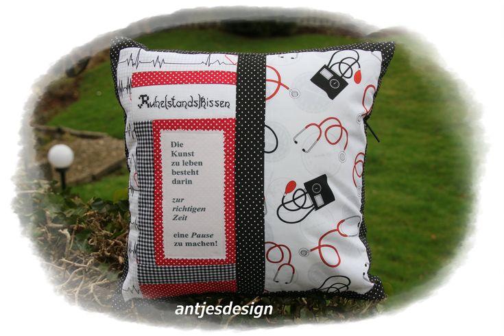 Retirement gift, doctor, nurse, nurse, midwife, pillowcase