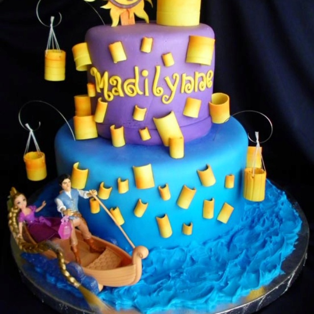 Tangled cake. Want this for my bday, dont care how old i am!