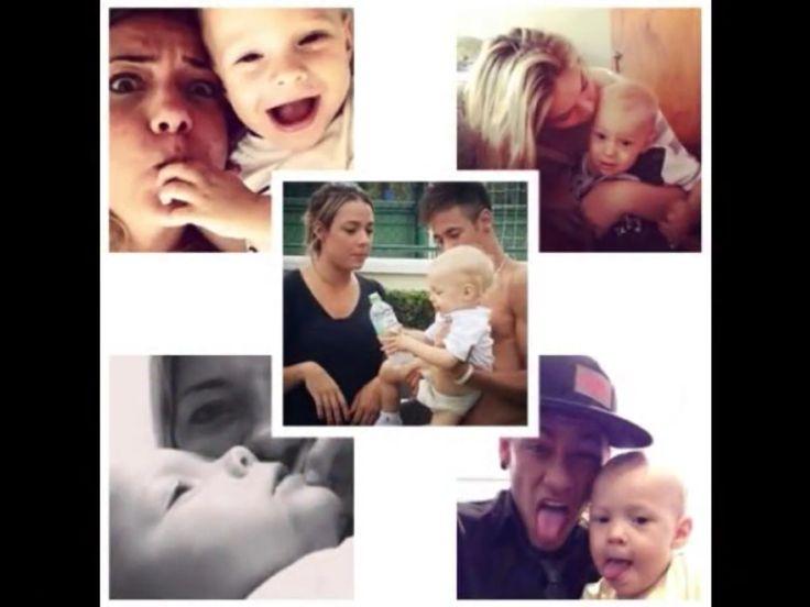 Neymar,Carolina and davi Lucca