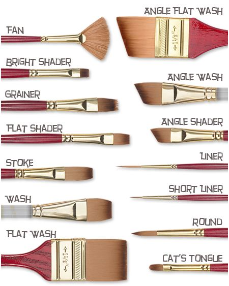 25 best ideas about acrylic brushes on pinterest for Acrylic brush techniques