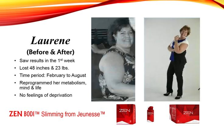 Before/After Zen Bodi testimonial www.rebaahicky0714.jeunesseglobal.com
