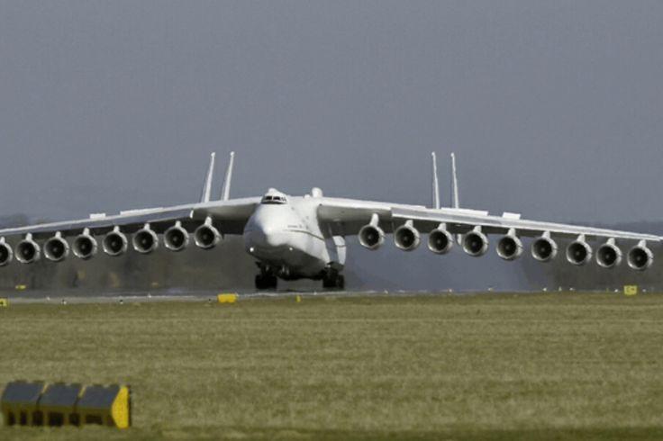 Antonov 225 biggest cargo USSR