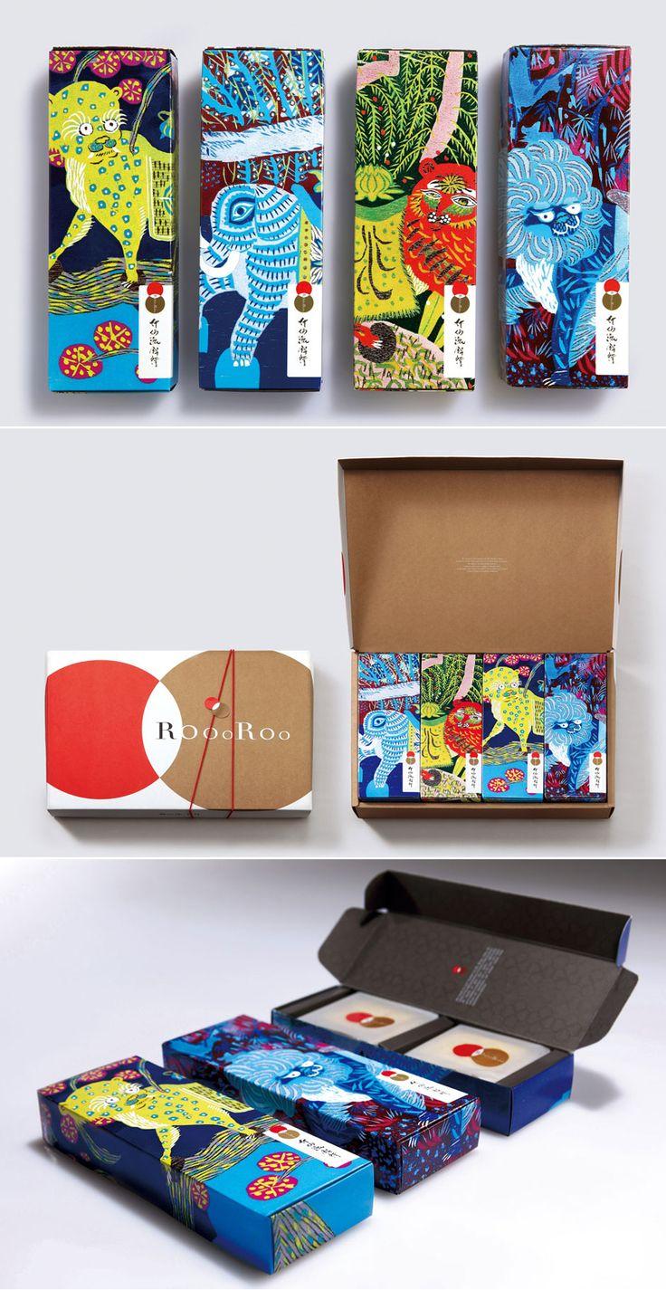 Vackra färger och illustrationer - Förpackad