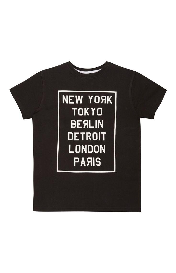 Black Cities T-Shirt