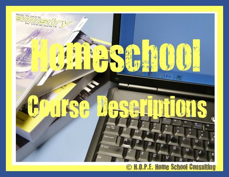 The words course descriptions can be a bit disconcerting for a homeschool mom. Creating those descriptions is not as difficult as it first may seem. Let me show you how to write homeschool course descriptions a bit easier.