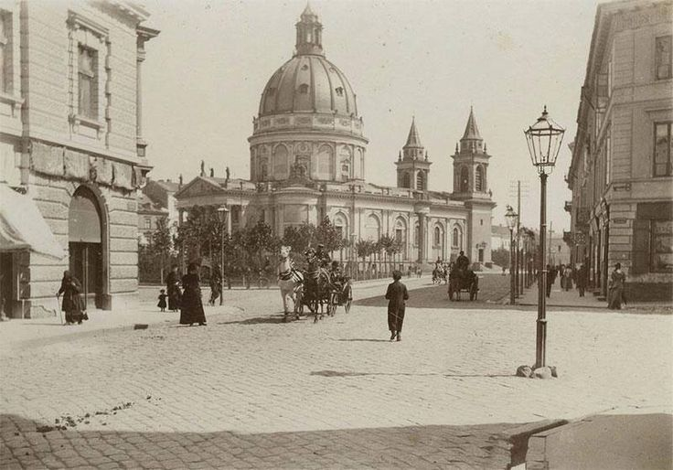 Plac św. Aleksandra (obecnie Plac Trzech Krzyży).