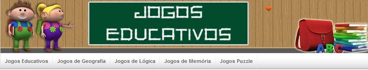 JOGOS EDUCATIVOS: Geografia, lógica, puzles, memória e muito mais!  PARA VÁRIAS DISCIPLINAS!