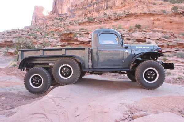 1942 Dodge Power Wagon 6x6 Moab Passenger Side Photo 143431697