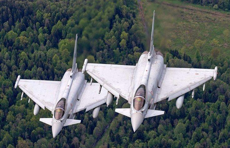 Italian Air Force Eurofighter F-2000A Typhoons